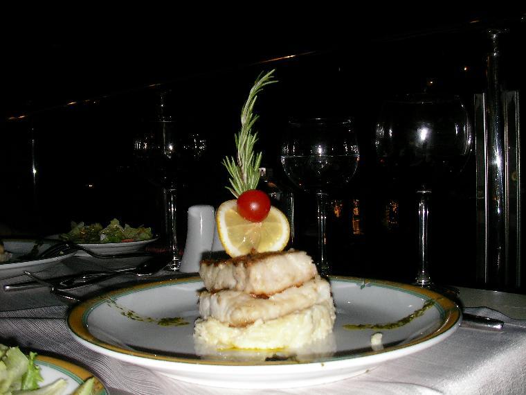 italyan restoran da balık keyfi.