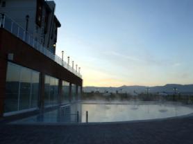 Sabah saatlerinde havuzun keyfi bir başka
