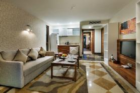 Lagoon Deluxe Suite - Living Room 3