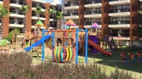 Yeni yapılan çocuk parkı harika olmuş !